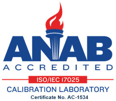 Acreditada ANAB ISO/IEC 17025 - Calibration Laboratory